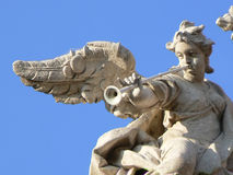 Angel statue. In Rome in at fontana trevi Stock Photo