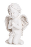 Angel statue. On white background Stock Photography