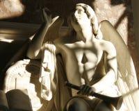 Angel Statue Arkivfoton