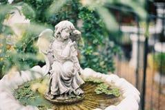 Angel Statue Arkivfoto