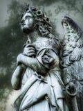 Angel Statue Arkivbild