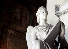 Angel Statue Arkivbilder