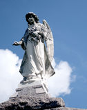 Angel. Statue above tomb in New Orleans Royalty Free Stock Photography