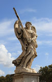 Angel statue on the angel bridge in rome Royalty Free Stock Photo
