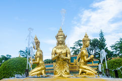 Angel statue art. In thailand Royalty Free Stock Photo