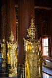 Angel statue of asian art, Thailand Stock Photos