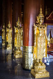 Angel statue of asian art, Thailand Royalty Free Stock Photos