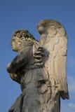Angel Statue bij de Kathedraal van Avignon royalty-vrije stock afbeeldingen