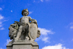 Angel Statue at Buckingham Palace. Angel Statue at The Mall leading to Buckingham Palace royalty free stock image