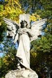 Angel Statue Cemetery Stock Photos