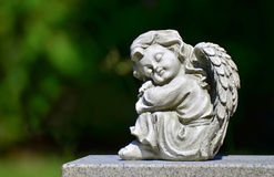Angel statue II Stock Photo