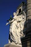 Angel statue of Karlskirche church in Vienna, Austria Royalty Free Stock Photos