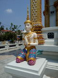 Angel Statue maschio Immagine Stock