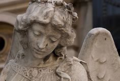 Angel Statue imagem de stock royalty free