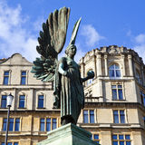 Angel statue in Parade Gardens in Bath Royalty Free Stock Photo