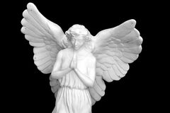 Angel Statue from Pettyville 4 Stock Image