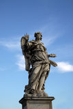 Angel statue on the Ponte Sant Angelo in Rome, Italy Royalty Free Stock Image