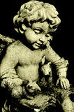 Angel Statue Reading Book Royalty Free Stock Image