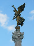 Angel statue in rome Royalty Free Stock Image