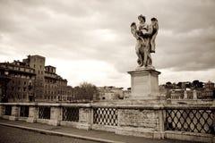 Angel statue, Rome Stock Photos