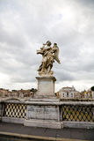 Angel statue, Rome Royalty Free Stock Photo