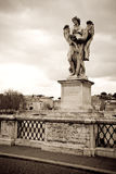 Angel statue, Rome Stock Image