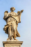 Angel Statue in Rome Stock Photos