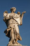 An Angel Statue, Rome, Italy Stock Photos