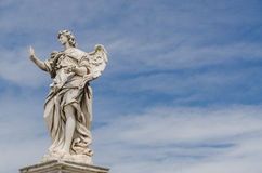 Angel statue, Rome, Italy Stock Image