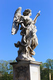 Angel statue - Rome Stock Images