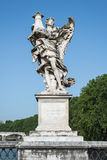 Angel statue in Rome Royalty Free Stock Photography