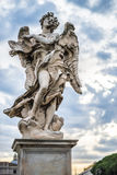 Angel statue in Rome Stock Photo