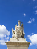 Angel statue at Triumphal Arch Stock Image
