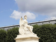 Angel statue at Triumphal Arch Royalty Free Stock Photos