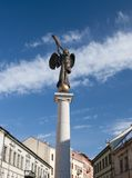 Angel statue at Uzupio, Vilnius, Lithuania Royalty Free Stock Photos