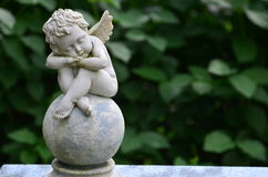 Angel statue VII Stock Images