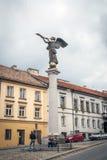 Angel statue in Vilnius Uzupis republic, Lithuania Royalty Free Stock Photo