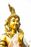 Angel statue Wat Pha Baht Si Roi, chiangmai Thailand Stock Photos