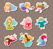 Angel stickers Royalty Free Stock Photos