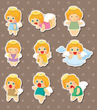 Angel stickers Royalty Free Stock Image