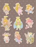 Angel stickers Stock Photo
