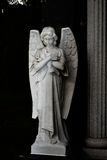 Angel stone statue. Royalty Free Stock Image