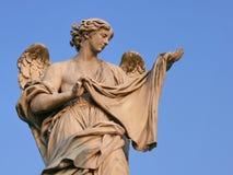 Angel with Sudarium. Rome. Royalty Free Stock Photos
