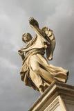 Angel with the Sudarium (Veronicas Veil)  on the bridge of Caste Royalty Free Stock Image