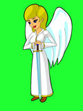 Angel with sword Stock Photo