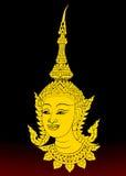 Angel thai motifs Stock Photo