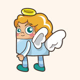 Angel theme elements vector,eps Royalty Free Stock Images