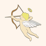 Angel theme elements vector,eps. Vector illustration file Stock Photography