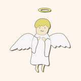 Angel theme elements vector,eps. Vector illustration file Royalty Free Stock Photography