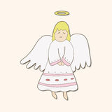 Angel theme elements vector,eps. Vector illustration file Royalty Free Stock Photo